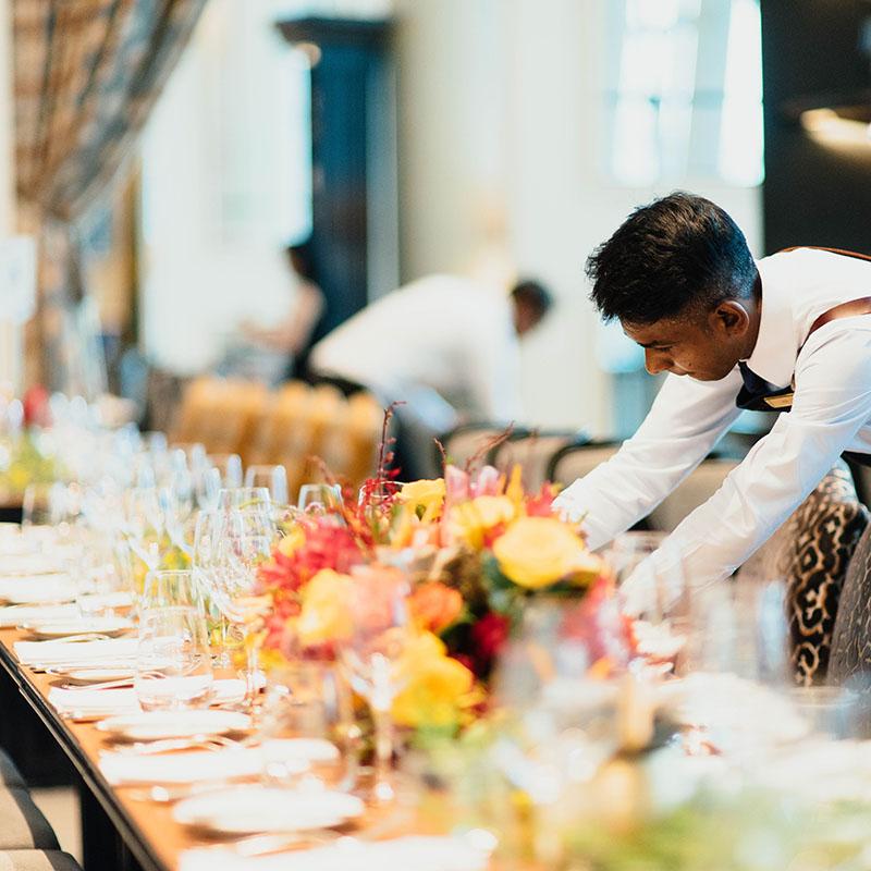 Waiters, Barmen & Cleaners
